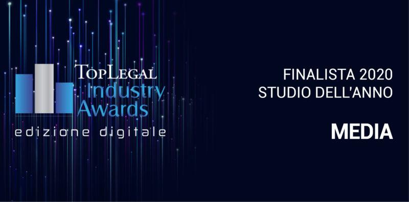 Finalista Studio dell'Anno Media badge